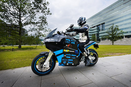 Electric motorbike photo courtesy of STORM Eindhoven