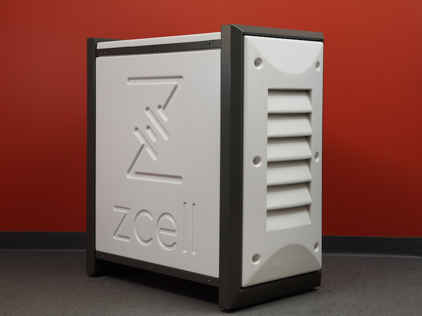 ZCell battery enclosure 19 W