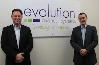 EBS Directors Paul Woods (left) and Jonathan Martin