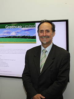 Greencap group commercial manager Peter Mitchell