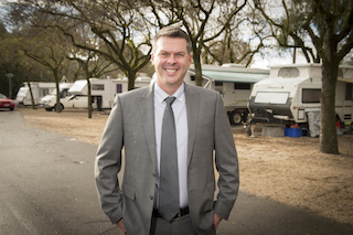 New Top Tourist Parks CEO Stuart Livingstone
